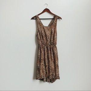 Francesca's: leopard print dress - NEW with tags